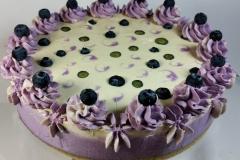 Blaubeere Lavendel Zitronencreme