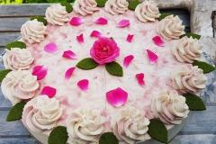 Rose Himbeere Zitrone